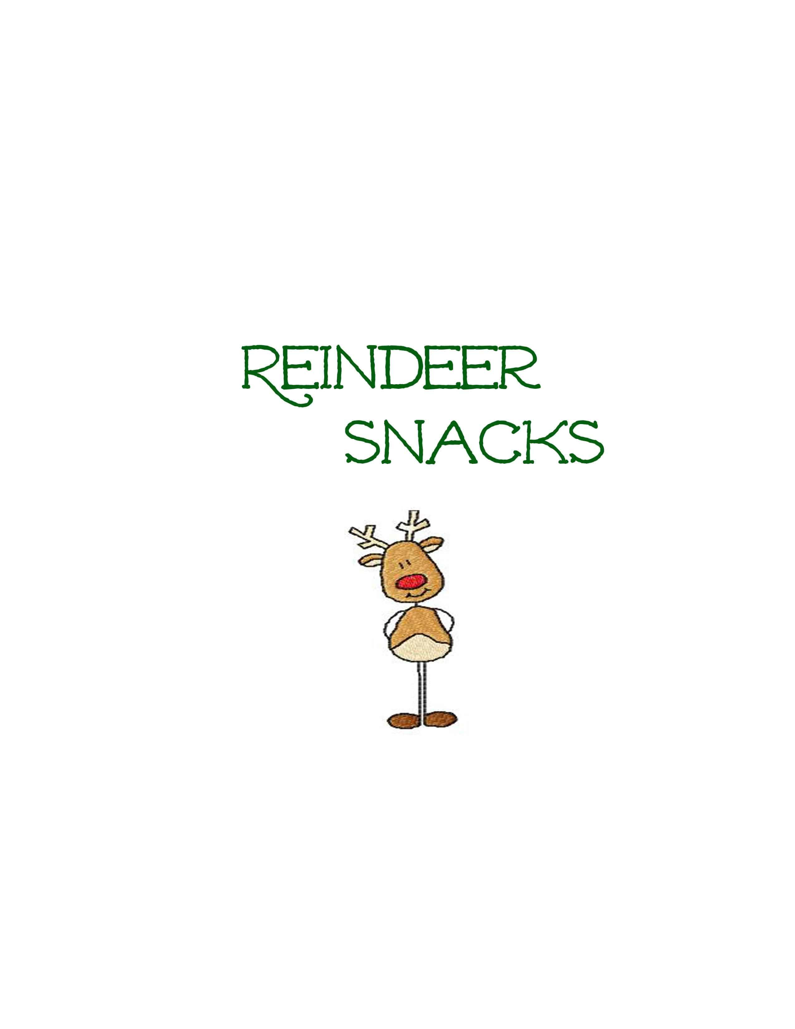 Easy DIY Christmas Plate: Cookies for Santa and Reindeer Snacks | The ...
