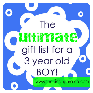 Giftlist3boyweb The Best Gift Ideas For A 3 Year Old BOY