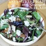 Pear and Gorgonzola Salad recipe