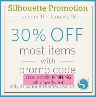 Silhouette Store Sale and Coupon Code!