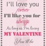 Free Printable Valentine's Day Home Decor Print