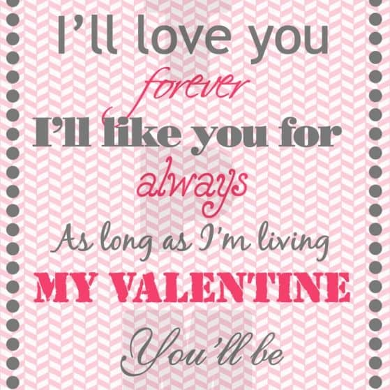 Free Printable Valentine's Day Home Decor Print