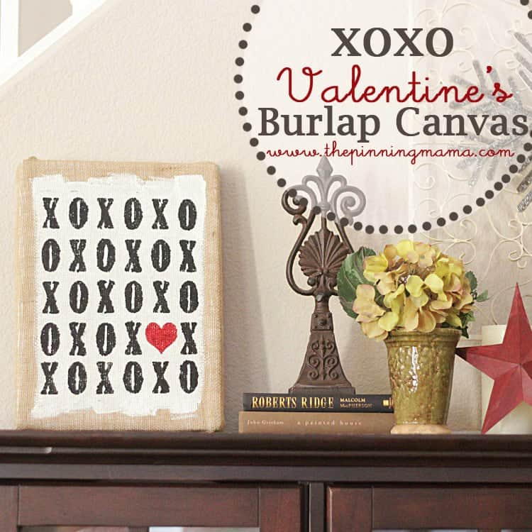 XOXO Valentine's Day Decor