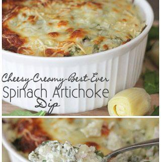 {Appetizer} Spinach Artichoke Dip
