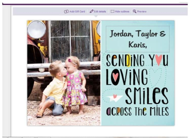 Treat personalized greeting cards promo code the pinning mama treat online greetingcards from your computer or iphone m4hsunfo