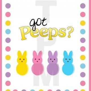 Got Peeps?  Free Easter Printable