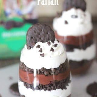 Triple Chocolate Thin Mint Parfaits