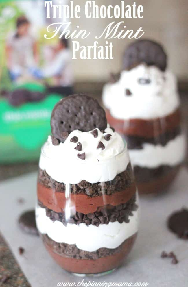 Triple Chocolate Thin Mint Parfait Recipe