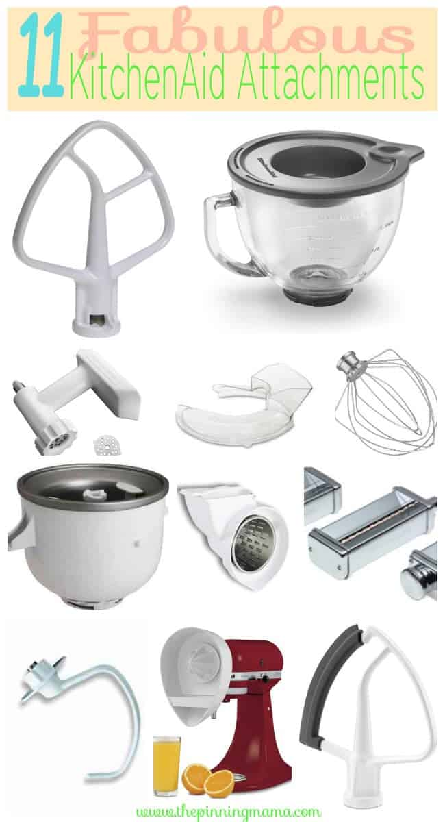 Affiliate Link Disclosure 11 Best Attachments For Your Kitchenaid Mixer Click Here To See What They Are And