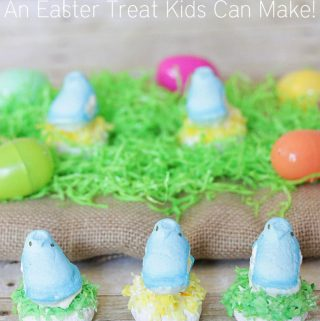 Peeps Birds Nest: A Fun Easter Treat To Make with your Kids!