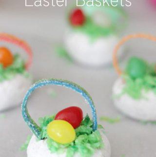 Powdered Donut Easter Basket Treats