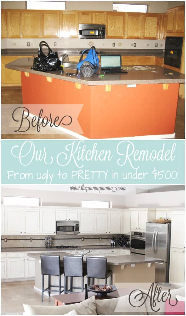 Kitchen remodel how to make a huge impact on a small for Inexpensive kitchen renovations