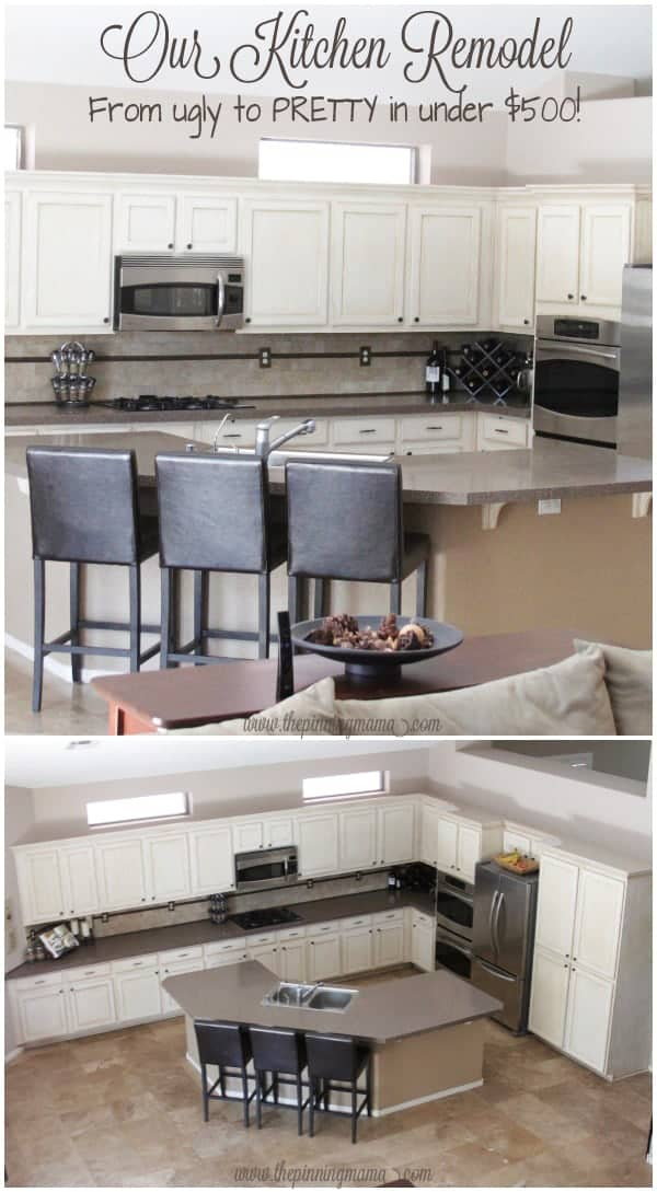 Kitchen Remodel How To Make A HUGE Impact On A Small Budget The - Cheap ways to remodel a kitchen