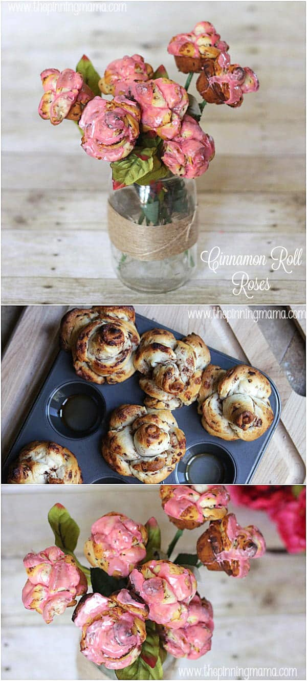 Combine flowers and breakfast in bed for Mother's Day with these beautiful roses made from @pillsburyideas cinnamon rolls!