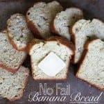 No-Fail Banana Bread Recipe