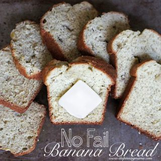 No-Fail Banana Bread Recipe