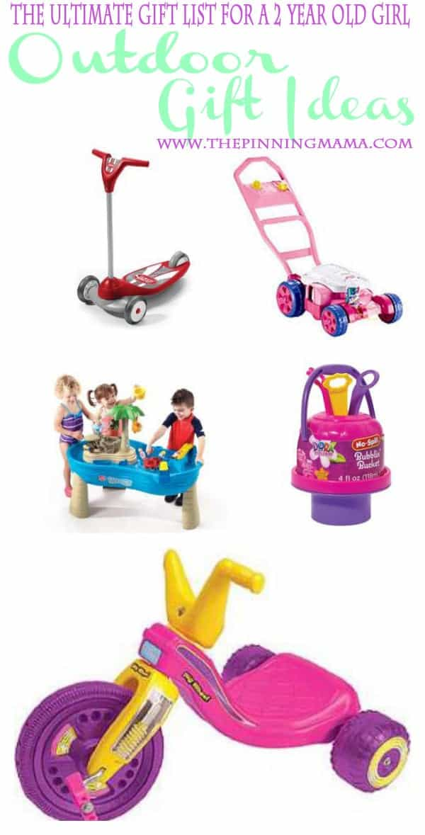 Outdoor Gift Ideas For A 2 Year Old Girl 1