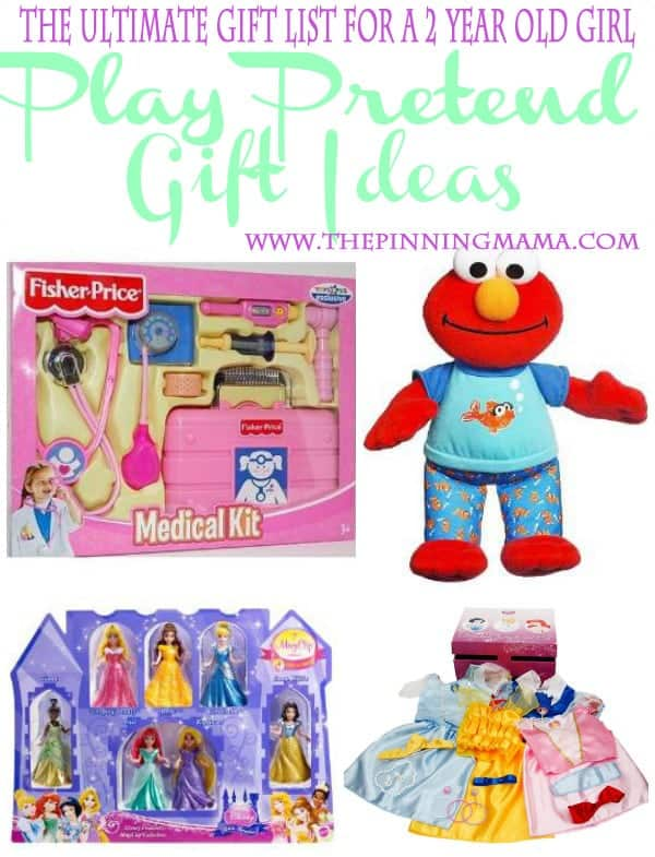 Little girls love to dress up and play pretend. These are perfect gift ideas!