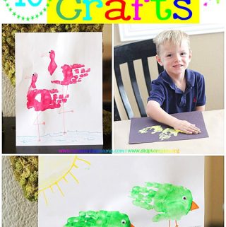 10 Summer Handprint Crafts