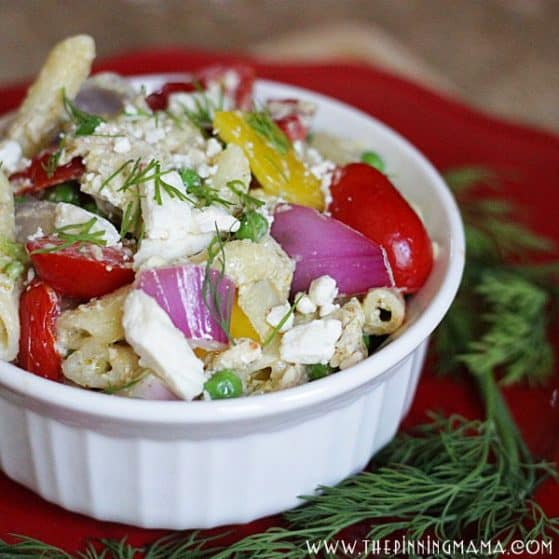 Greek Pasta - An Easy Weeknight Dinner