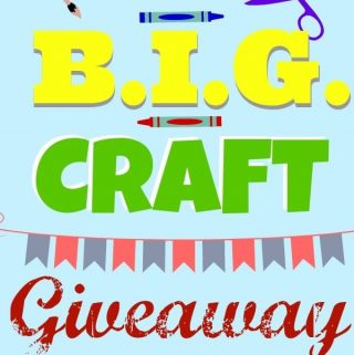 The BIG Craft Giveaway!