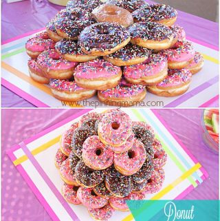 {Donut Party} Simple Kid's Birthday Party Idea