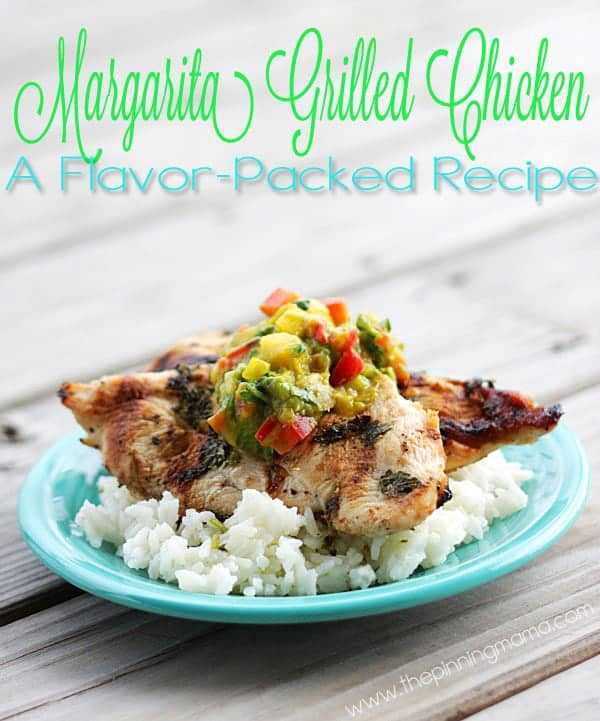 This grilled Margarita Chicken recipe is perfect for entertaining but have the recipe handy because EVERYONE will want it! It is juicy and flavor filled- doesn't get much better than this!