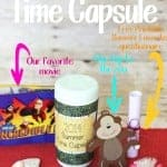 Family Summer Time Capsule