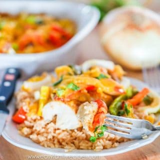 Easy Fajita Chicken Bake Recipe