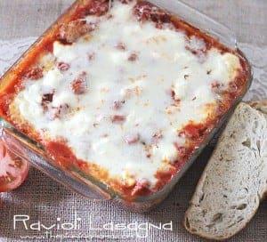 Ravioli Lasagna Casserole - So yummy.