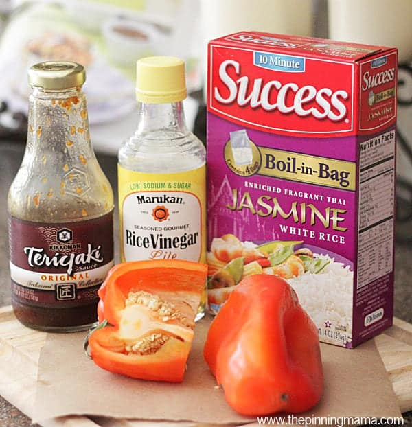 Only 5 ingredients in this Easy Thai Chicken Bake. I love easy week night dinner recipes!
