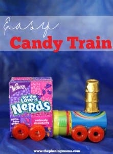 The perfect party favor for a Train Birthday Party! Click here for lots more train party ideas!
