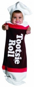 Baby Tootsie Roll Halloween Costume