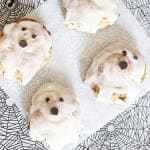 This easy Halloween breakfast can be whipped up in minutes with @Pillsburyideas Cinnamon rolls!