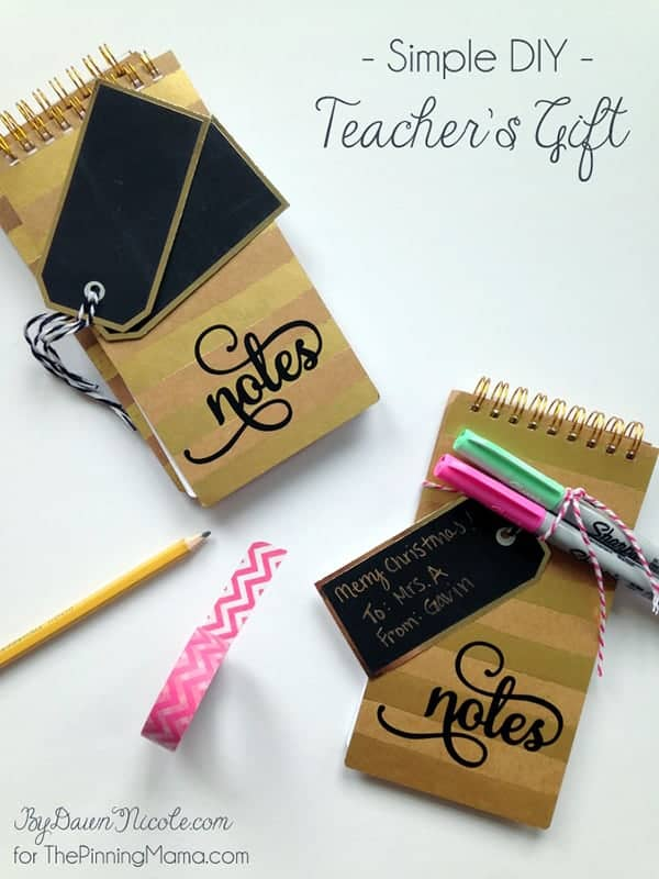 Simple DIY Teacher's Gift