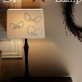 Magic Spooky Eyes Lamp
