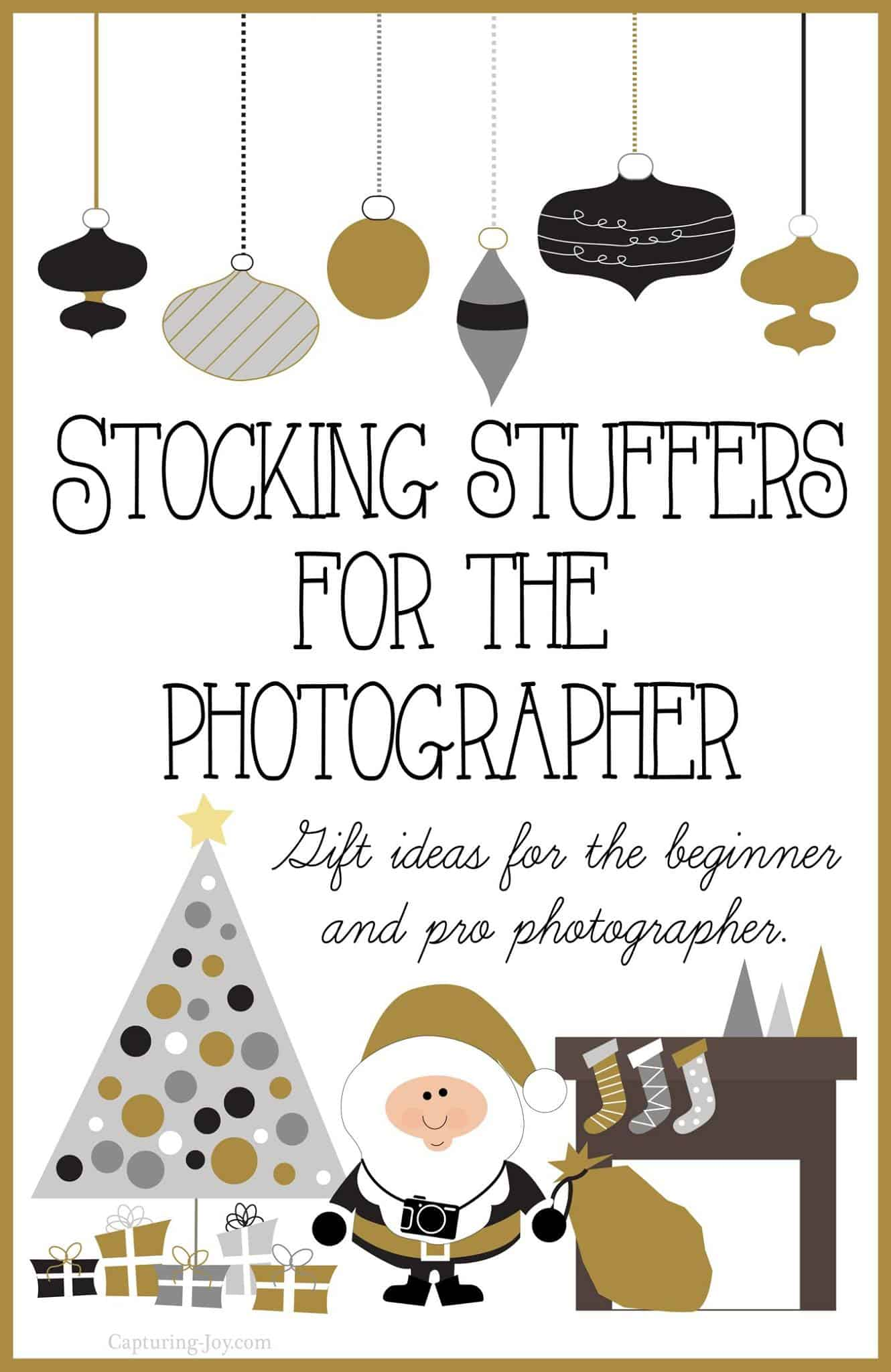Stocking Stuffer Ideas for the Photographer