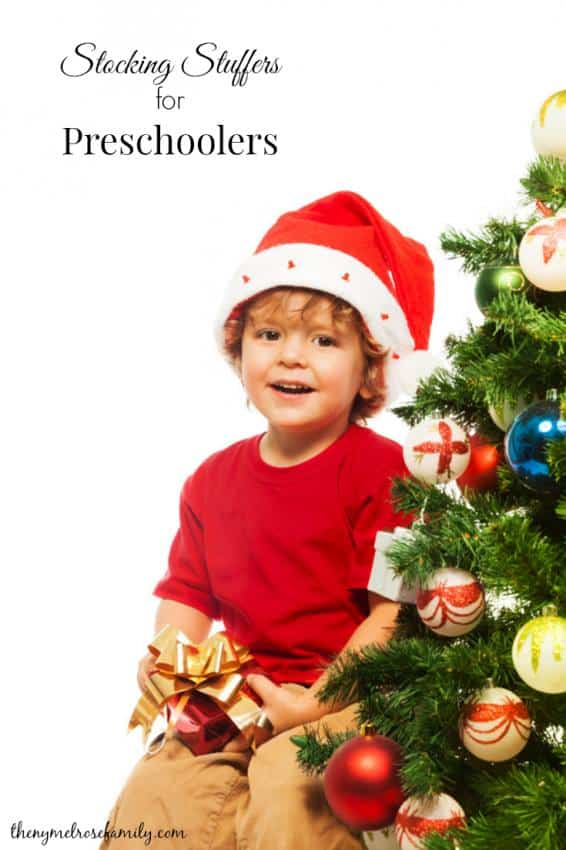 Stocking Stuffer Ideas for Preschoolers