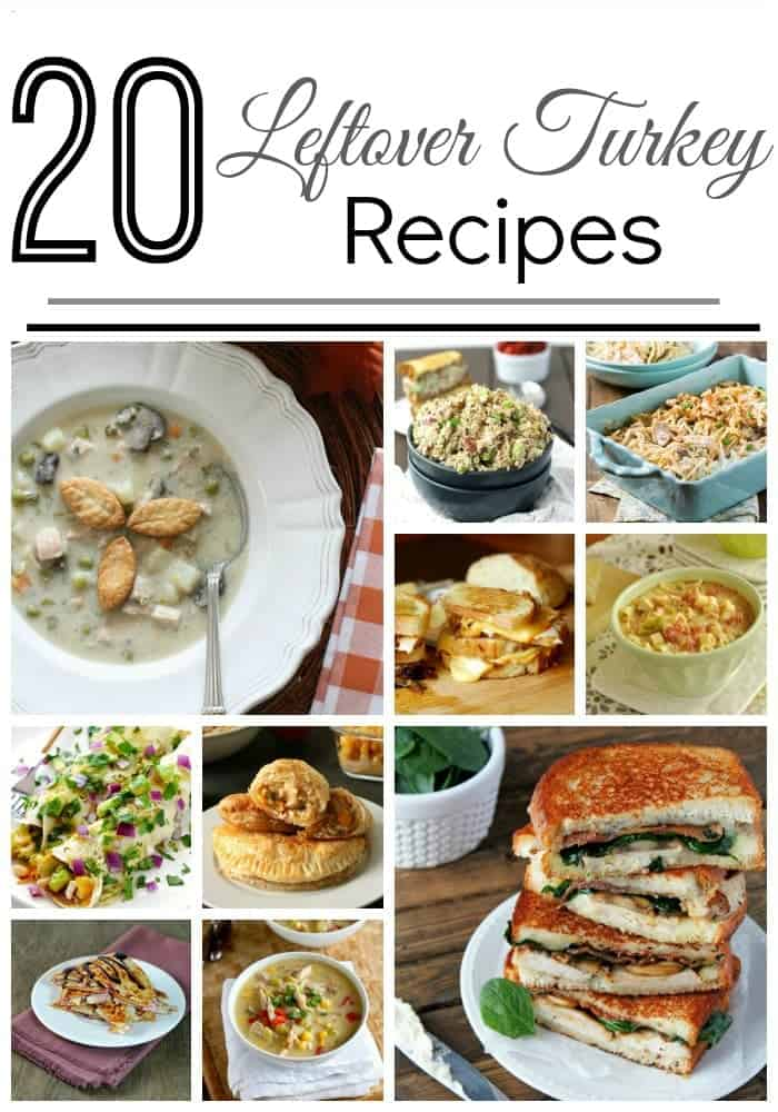 20 Leftover Turkey Recipes
