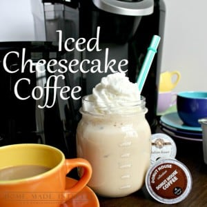If you are a coffee lover and you want to try something new check out our recipe for Cheesecake Iced Coffee.