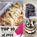 Some of the best loved recipes of the year! These have been pinned over a million times!