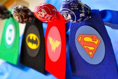 Aren't these the cutest super hero valentines?