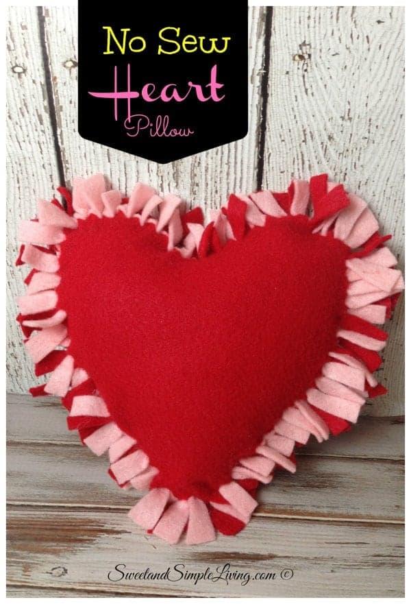 Felt Heart Valentine Trees From Lolly Jane