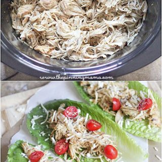 3 Ingredient Crock Pot Caesar Chicken
