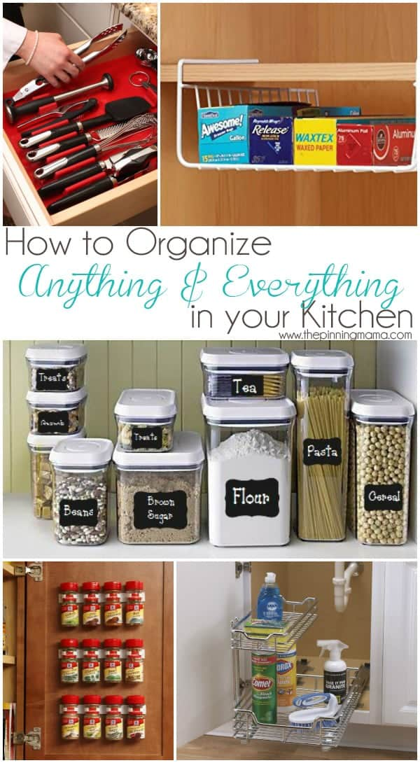 How to organize ANYTHING u0026 EVERYTHING in your kitchen. I didnu0027t even know & Best Products to Organize Anything u0026 Everything in Your Kitchen ...