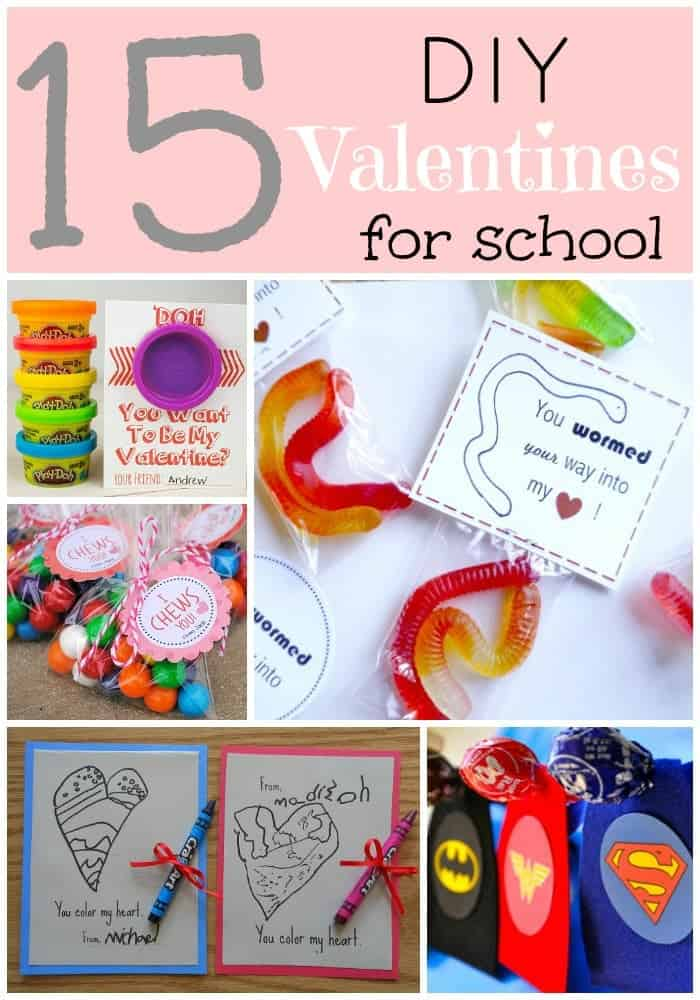 15 School Valentines for Kids