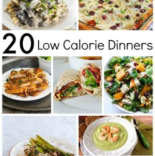 20+ Low Calorie Dinners