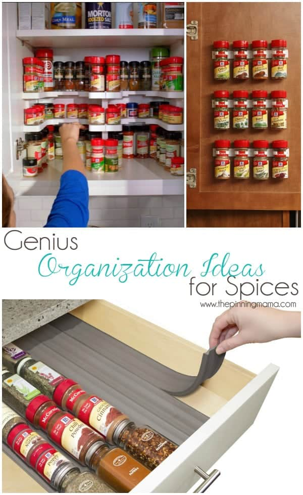 These are some seriously cool ideas to organize spices!