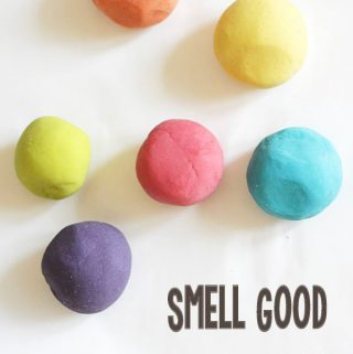 Essential Oil Play Dough Recipe
