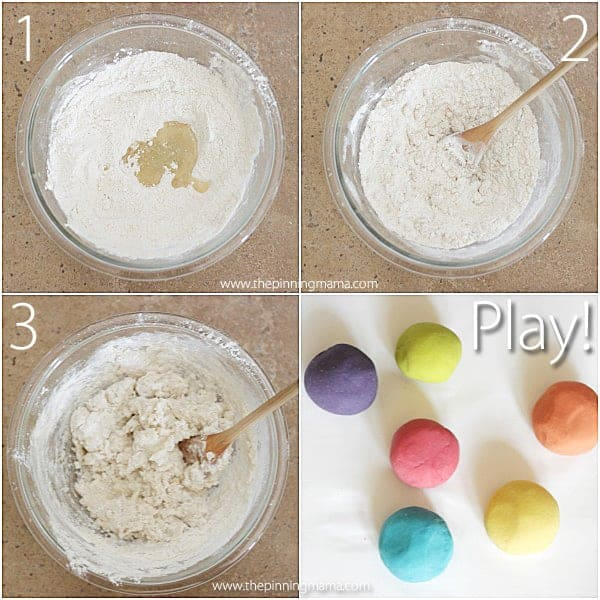 My favorite play dough recipe at thepinningmama.com